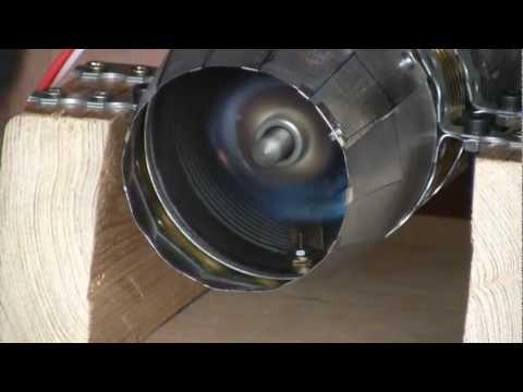 Self Made Jet Engine : 2. Testrun