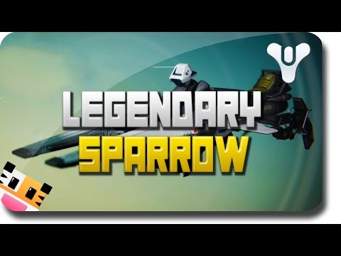 "Destiny ""Legendary Sparrow"" - Fastest Sparrow In Destiny (Destiny Legendary Sparrow Review)"