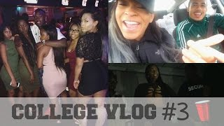 College Vlog #3 | Class, Parties, Homecoming Weekend, & Kash Doll