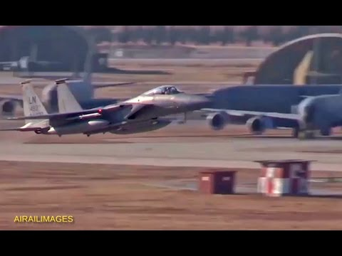 Incirlik Air Base Flight Ops - May 2016