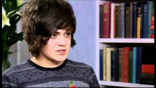 Frankie Cocozza first Interview after leaving the xfactor (Xtra Factor) YouTube Videos