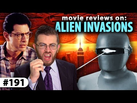 INDEPENDENCE DAY vs. RESURGENCE - Alien Invasion Movie Reviews