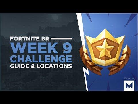 Fortnite Battle Royale: Season 4 Week 9 Challenges, Guide & Locations