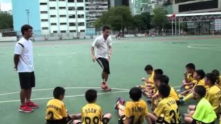 Happyfootball vs 馬灣基慧小學友賽 - 賽後大合照及檢討