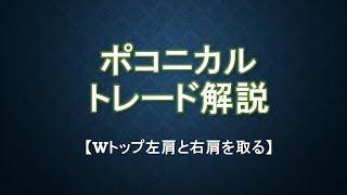 ポコニカルトレード【Wトップ右肩を狙う方法】