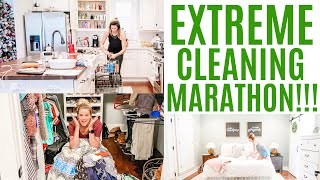 Extreme Cleaning Marathon // 3 Hour Cleaning Motivation // Amy Darley