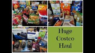 Huge Costco Haul Pantry Stock Up & Meal Plan