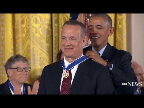 Tom Hanks Medal of Freedom Award Full Speech