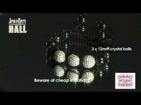 Item 9 White Crystal 3 Ball Mov Ff