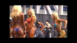 2012 Olympia: Women's Backstage Footage