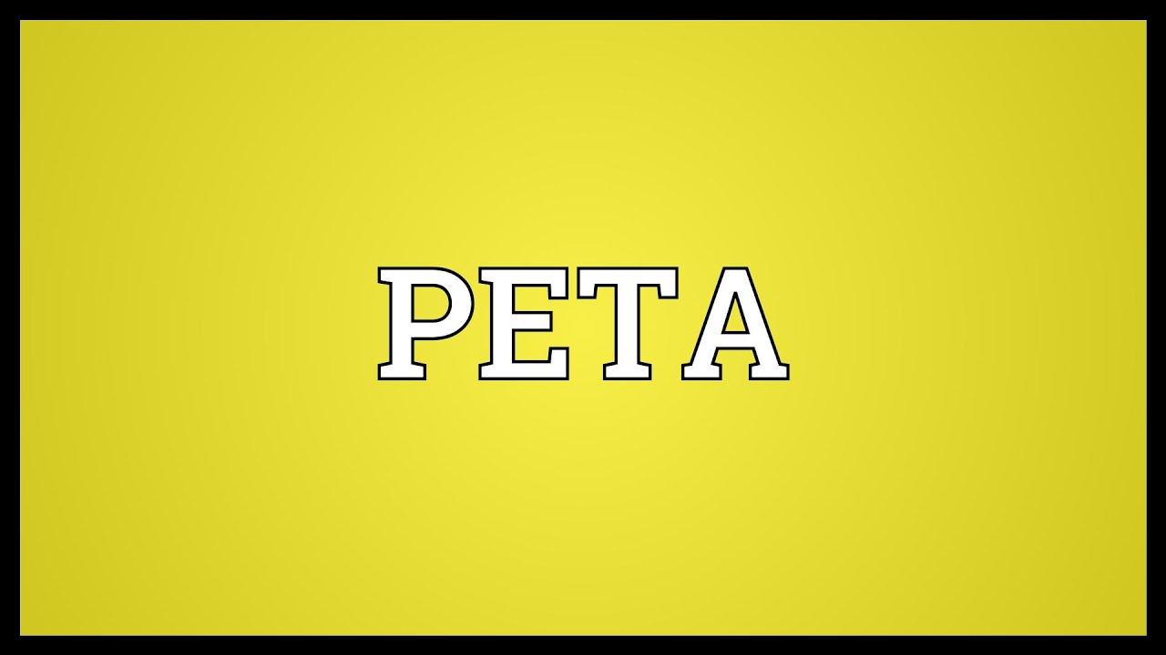 peta meaning