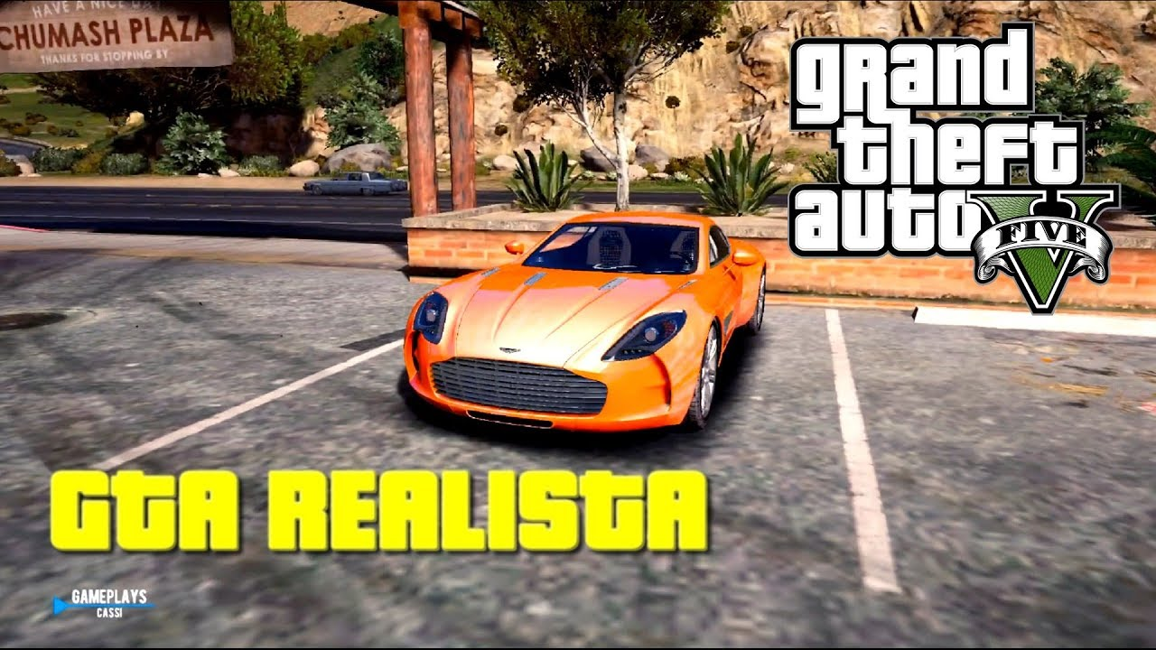 gta 5 ultra realistic and with aston martin one 77 redux mod rh youtube com