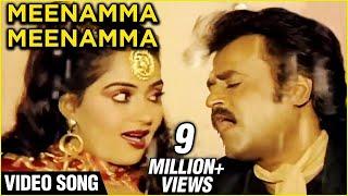 Rajnikanth & Radha in Meenamma Meenamma - Rajadhi Raja