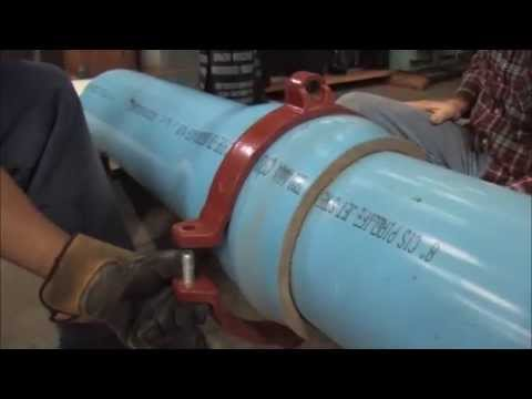 EBAA Series 2500 Installation Video for 4 in. through 12 in. pipelines