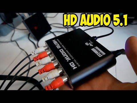 Аудио декодер или как подключить старую акустику 5.1 к ТВ или TV Box