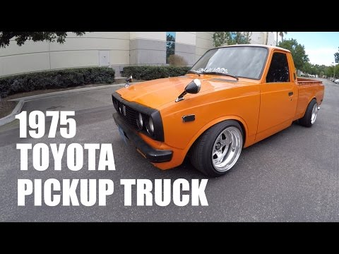 STANCED 1975 TOYOTA PICKUP TRUCK [BEHIND THE SCENES]