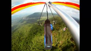 First Flight from Henson Gap, Tennessee