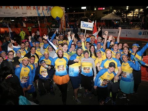Team Lifeline Canada 2017 Miami Marathon