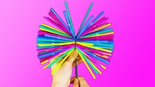 20 COLORFUL AND FUN IDEAS WITH STRAWS thumbnail