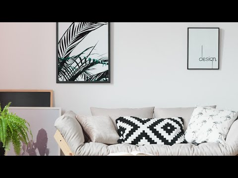Here's How You Can Hang BIG Wall Art Without a Single Nail or Hammer