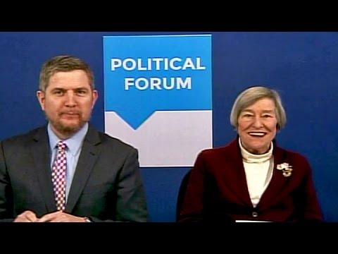 Rep. Barbara Flynn Currie  Political Forum on CAN TV