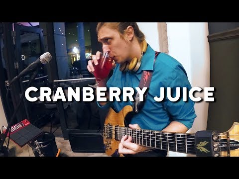 Cranberry Juice - live music production with guitar solo
