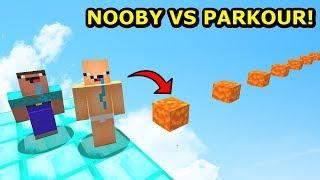 NOOBY VS NAJTRUDNIEJSZY PARKOUR ŚWIATA! Poradzą Sobie? Minecraft