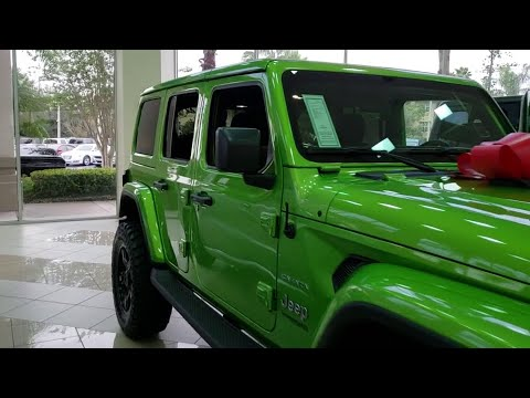 2019 Jeep Wrangler Unlimited Orlando, Hunter's Creek, Kissimmee, Windermere, Davenport, FL W501252
