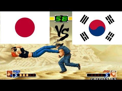 拳皇2000 - Asuka (Japan) vs Do Yun (South Korea) snk the king of fighters 2000