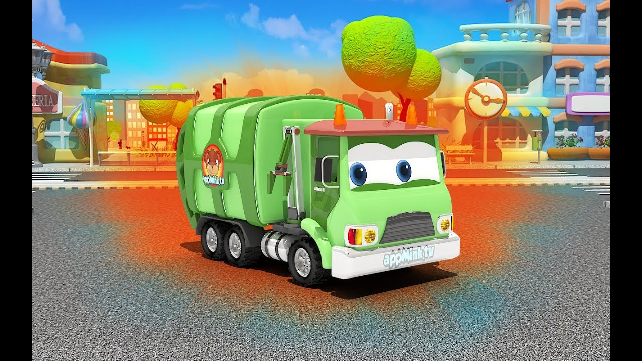 Appmink Build A Garbage Truck Garbage Truck Videos For