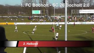 Saison 2013/2014 16.Spieltag 1. FC Bocholt - SC 26 Bocholt