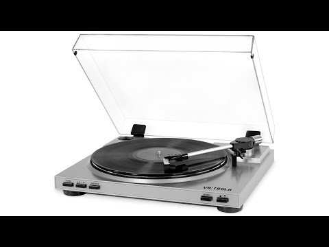 Victrola VPRO-3100 Pro USB turntable review & test