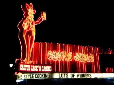 Cactus Jack's Casino Marquee, Carson City