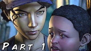 THE WALKING DEAD SEASON 3 A New Frontier Walkthrough Gameplay Part 1 - Burial (Episode 2)