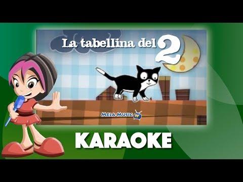 La canzoncina della tabellina del 2 - Versione karaoke