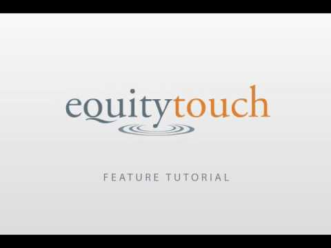 CRM Software Demo - EquityTouch™ CRM
