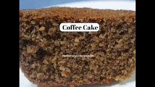 Soft & Spongy Coffee Cake
