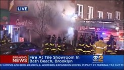 Fire In Bath Beach, Brooklyn