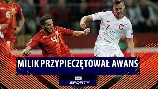Jedziemy na Euro 2020! Zobacz trafienie Arkadiusza Milika | Polska - Macedonia Płn. 2:0