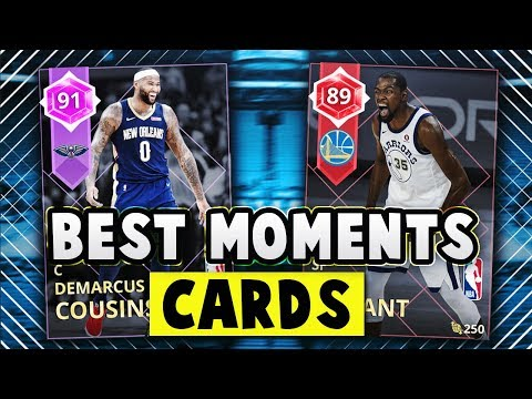 NBA 2K18 MyTEAM RUBY DURANT & AMETHYST COUSINS!! | THE BEST MOMENTS CARDS IN NBA 2K18 MyTEAM