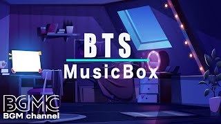 BTS MUSIC BOX BTS Songs Music Box Playlist for Relaxing Sleeping and Stress Relief