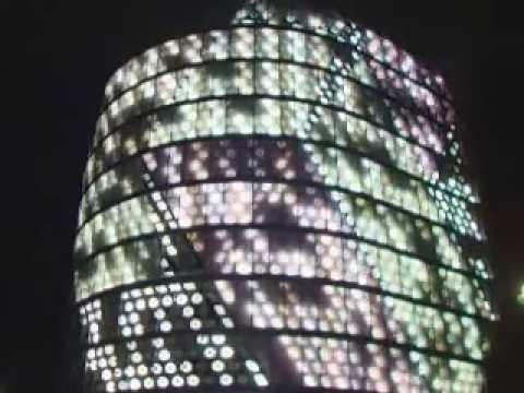 compArt at SPOTS Berlin media facade. Computer Art