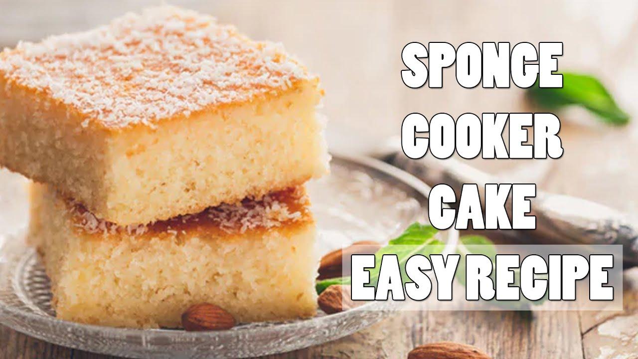 Sponge Cake | Easy Cake Recipe | Cake Recipe with Cooker | Dalgona Kitchen