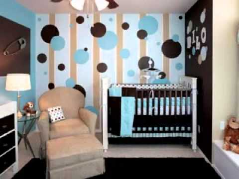 wallpaper design ideas for baby boy room - YouTube