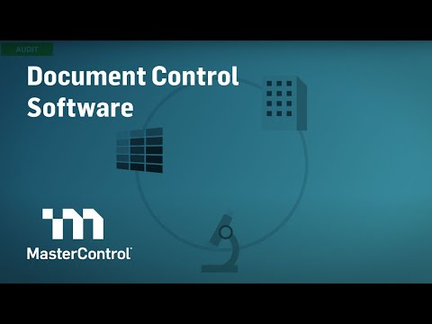 Demo MasterControl Document Control Software