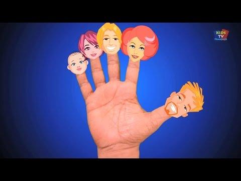 famille doigt nursery rhyme | Les comptines pour enfants | rimes compilation en français