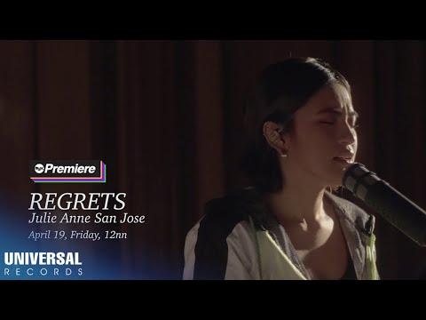 Julie Anne San Jose - Regrets (Official MV Teaser)
