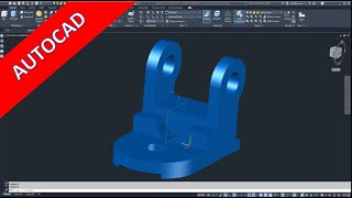 3.9 Gelenk 3 - Joint 3 - Autocad 2021 Training - Part Design