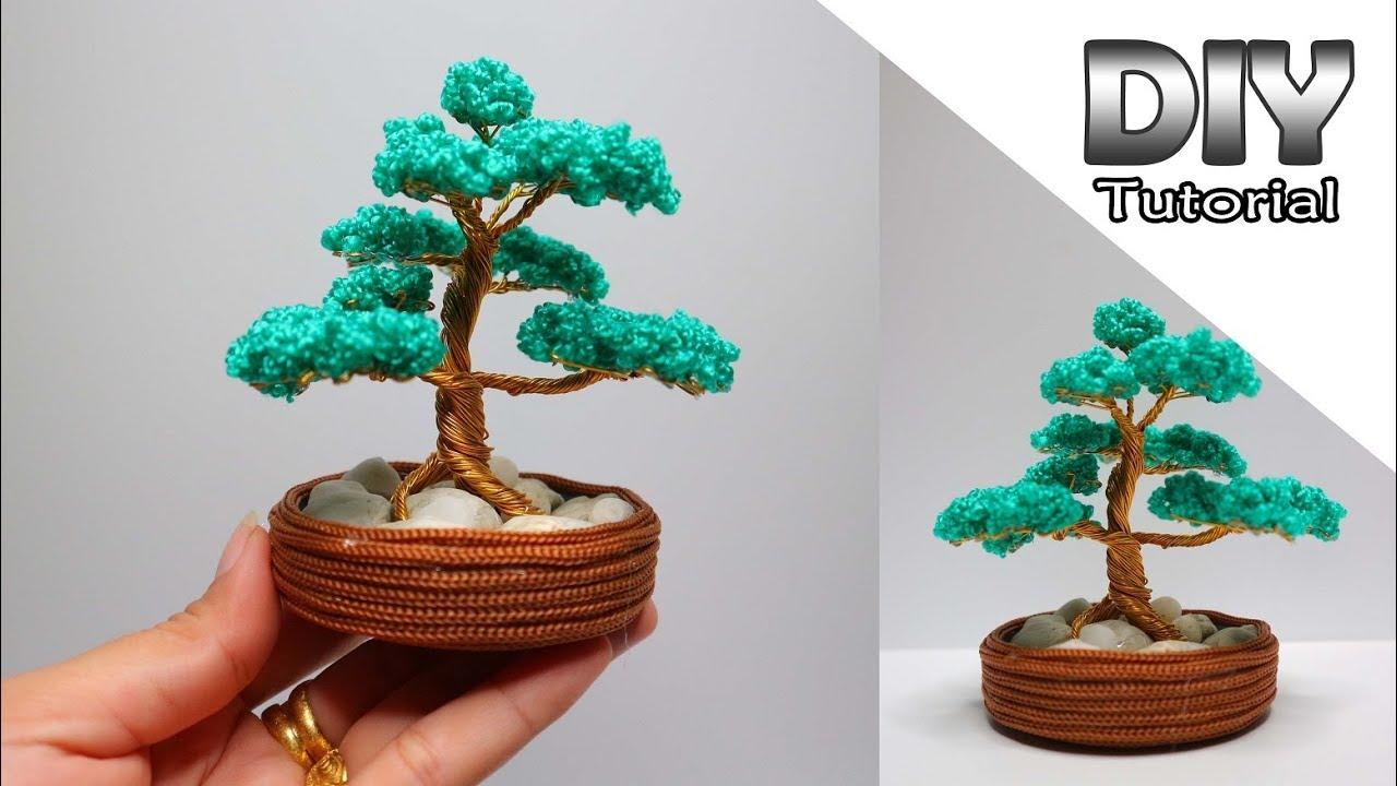 Diy Simple Quick Miniature Wire Bonsai Tree Mindy