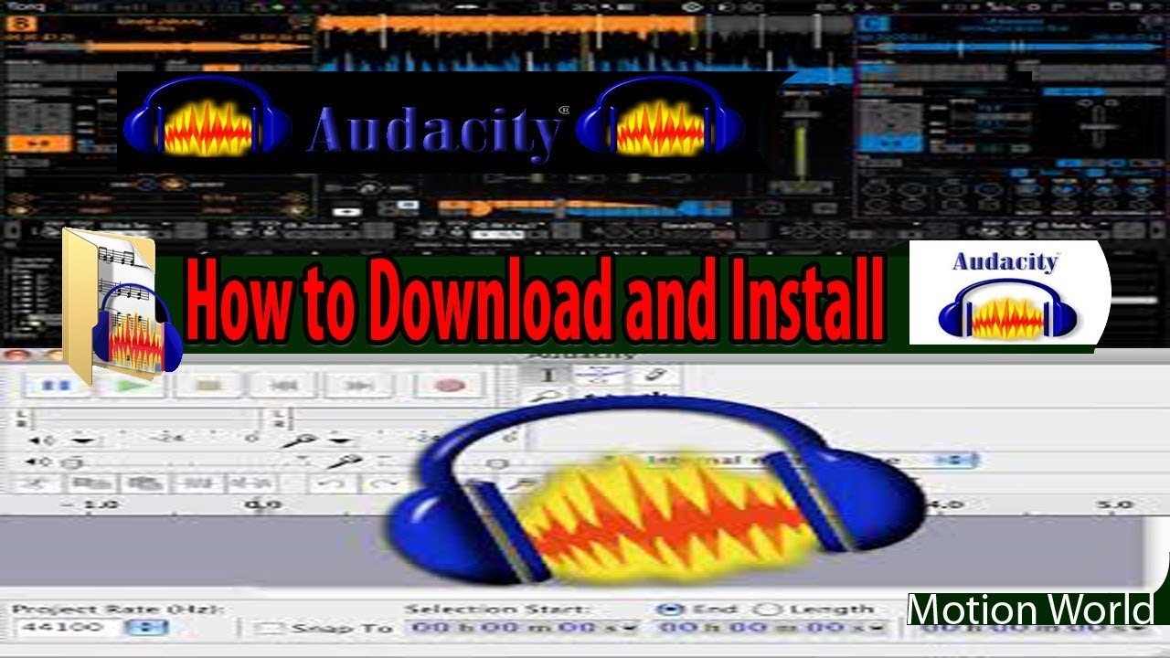 How To Download latest Audacity For your PC Best Audio Editing Software For  Free